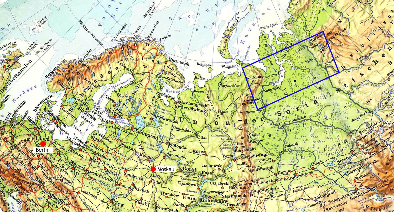 Uralgebirge Karte.Die Stalinbahn Trilogie Orientierung