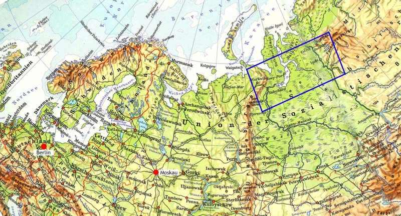 Die Stalinbahn Trilogie Orientierung
